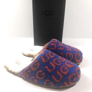 UGG Scuff Pop Wool Sheepskin Men's Slippers NIB